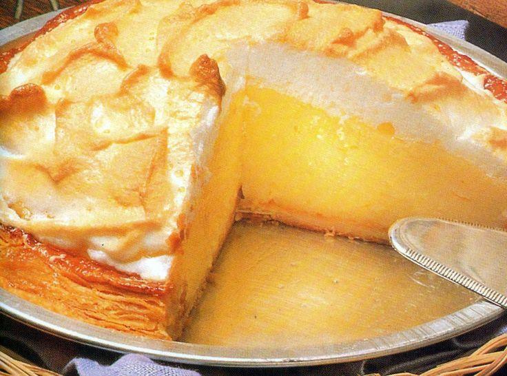 Ingredienti:  per 6 persone       pasta sfoglia surgelata  Per la crema al limone:   50 g di amido 150 g di zu...