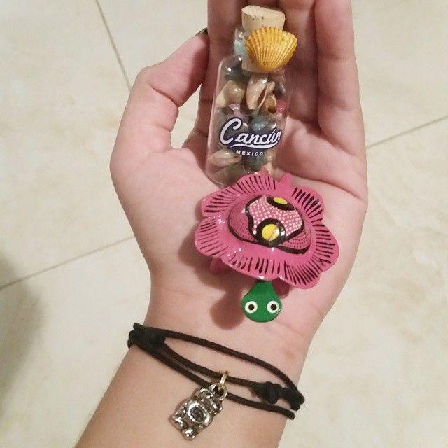 3 lindos regalitos traídos desde #cancun