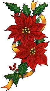 flor de navidad para colorear - Buscar con Google