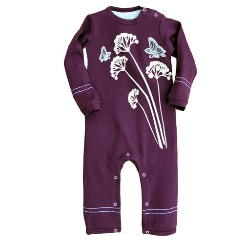 Mulberry Butterflies – Romper | Toronto Baby Store: balafant boutik  We can't get enough of Wee Urban's latest Romper. Made of 100% Certified Organic Cotton with an added gusset in the rear to accommodate cloth diapers, they are sure to be super comfy for your little one. Care instructions: machine wash cold, no bleach, tumble dry low  Manufacturer: Wee Urban