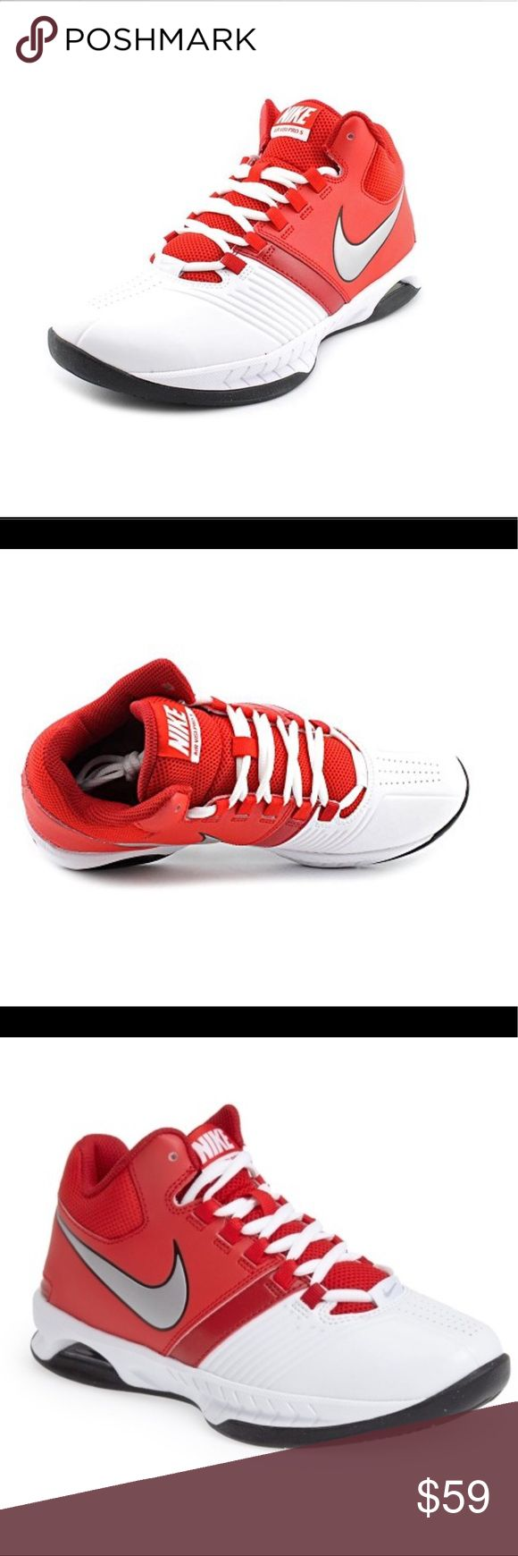 💥Nike Air Visi Pro 5 Women's Basketball Shoes💥 Nike Air Visi Pro 5 Women's Basketball Shoes. Choose the Nike Air Visi Pro 5 basketball shoes and you'll be the star on the court. This basketball shoe is designed for long-lasting cushioning and support that no other model can provide you. The mid-top synthetic collar is crafted to protect your ankles when quick pivoting or running. You'll be able to transition through the game effortlessly  *Durable synthetic  *Flex grooves allow for…