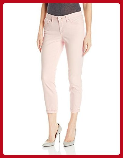 Jessica Simpson Women's Forever Rolled Cuff Skinny Jean, Peach Whip/Rocco, 25 - All about women (*Amazon Partner-Link)