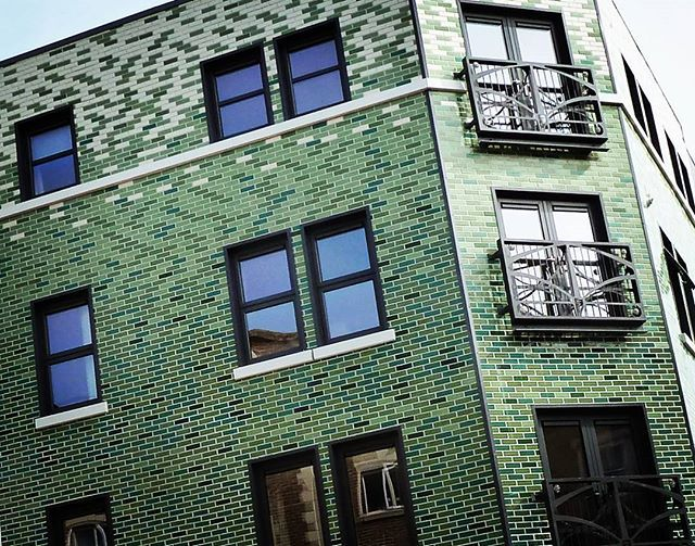 External wall insulation, ceramic tiles, facade finishes.@trinderarchitectural @woodleylucas