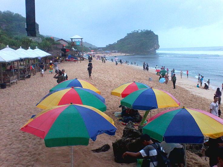 #IndrayantiBeachJogjaj #Jogjakarta #Indonesia
