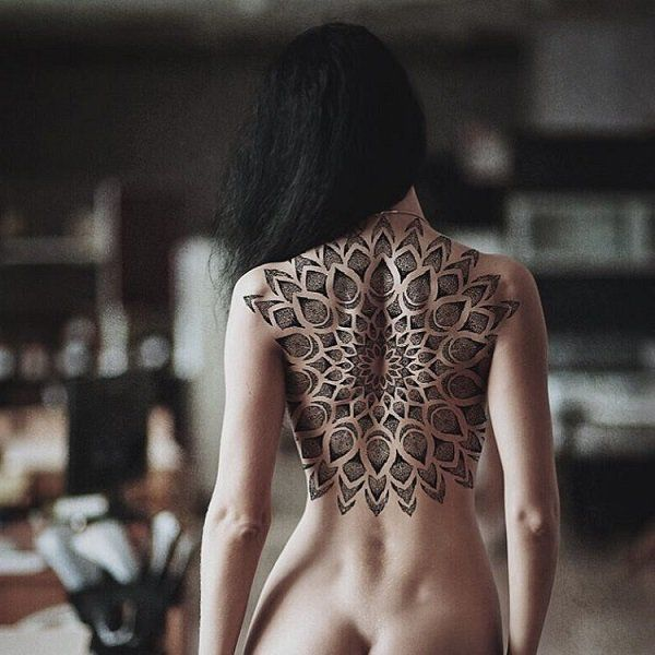 Beautiful back tattoo - 100 Awesome Back Tattoo Ideas <3 <3