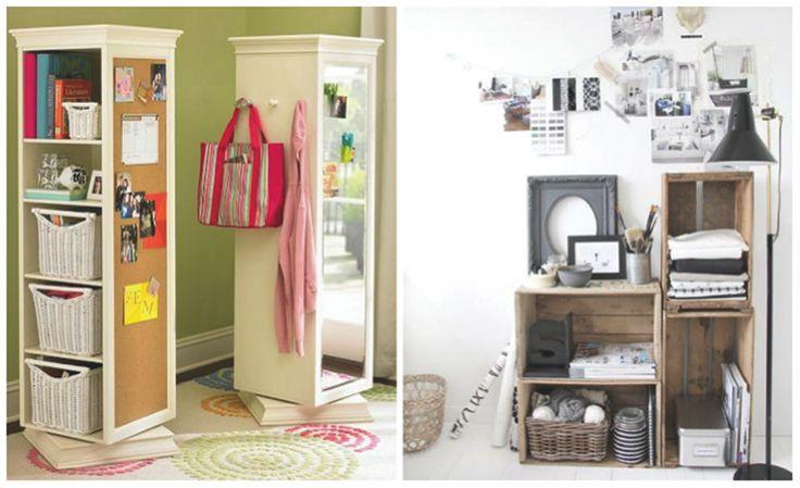 Inrichten kamer kleine kamer woonkamer inrichten slim opbergen inrichting en decoratie - Decoratie van een kamer ...