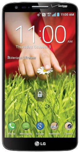 LG G2, Black 32GB (Verizon Wireless) Display: 5.2-inches. Camera: 13-MP. Processor Speed: 2.26 GHz. OS: Android 4.2.2 (Jelly Bean).  #LG #Wireless