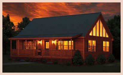 17 Best Ideas About Log Cabin Modular Homes On Pinterest