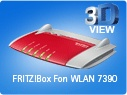 Fritz!Box Fon WLAN 7390 Gateway
