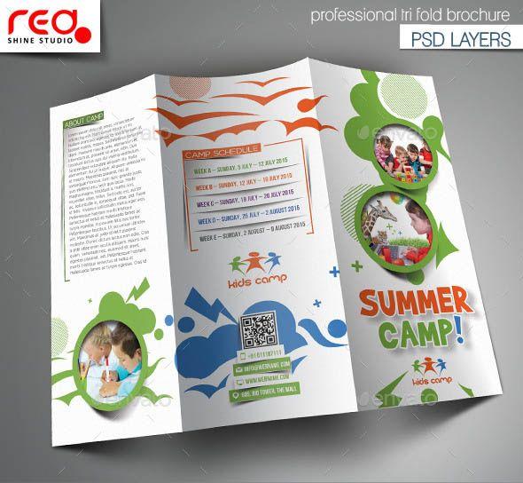 kids brochure template - 32 best best tri fold brochure design templates images on