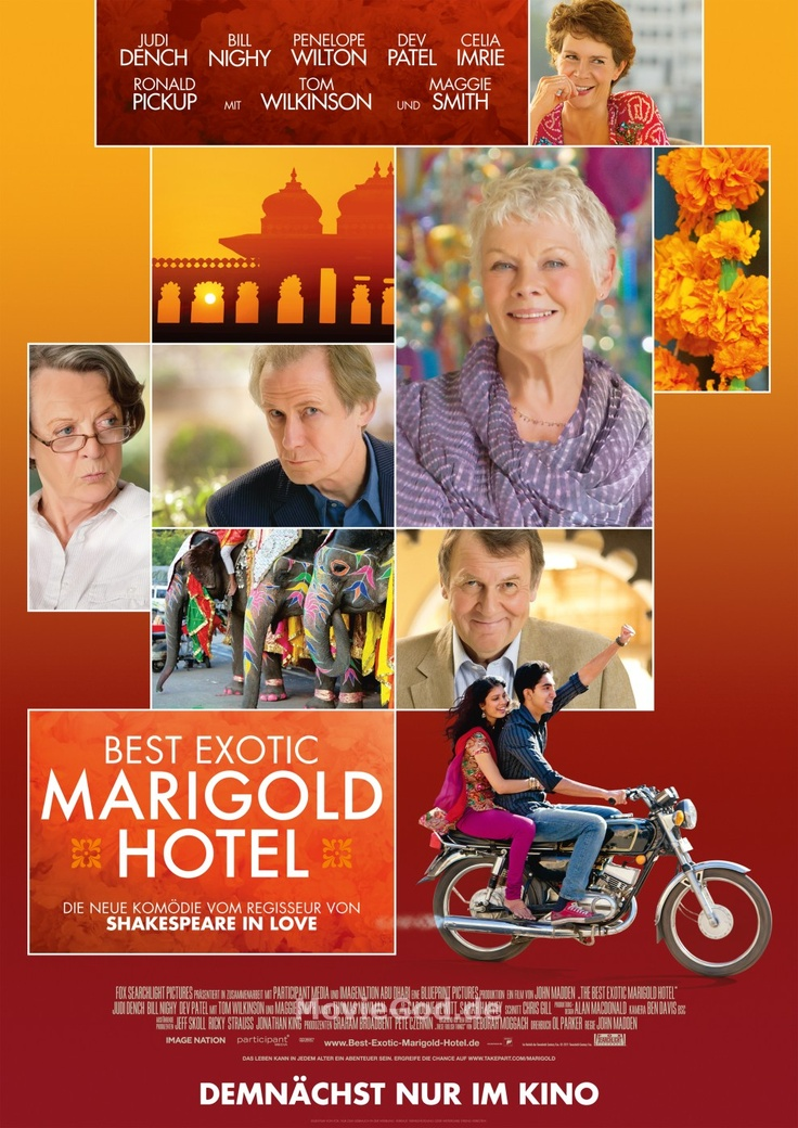 the best exotic marigold hotel--very good movie