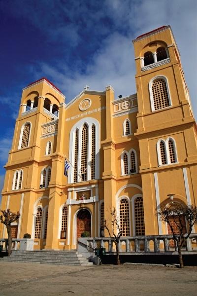 Aghios Nikolaos church in Metropolis Square #Alexandroupoli #Greece