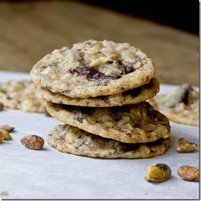 ... Chunk Pistachio Oatmeal Cookies, loved the sweet and salty balance