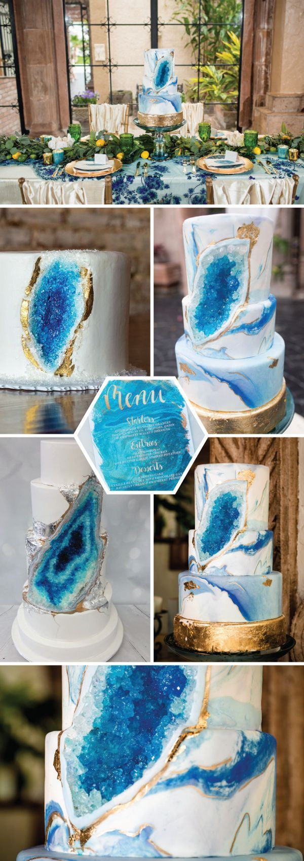 Geode cakes and why they are today's hottest wedding trend
