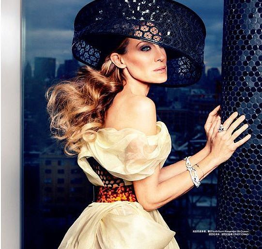 Sarah Jessica Parker Fashion Editorials | POPSUGAR Fashion