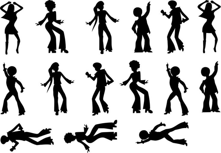 70's Dancing Disco Cake Topper Silhouettes A4 Edible Printed Iced Sheet | Home, Furniture & DIY, Cookware, Dining & Bar, Baking Accs. & Cake Decorating | eBay!