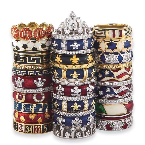 """Hidalgo has often been referred to as """"The King of Stackable Rings"""", and now the options are truly endless!"""