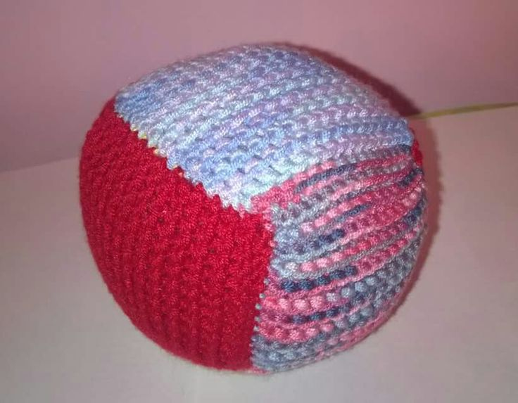 Hand knitted ball, great for little ones