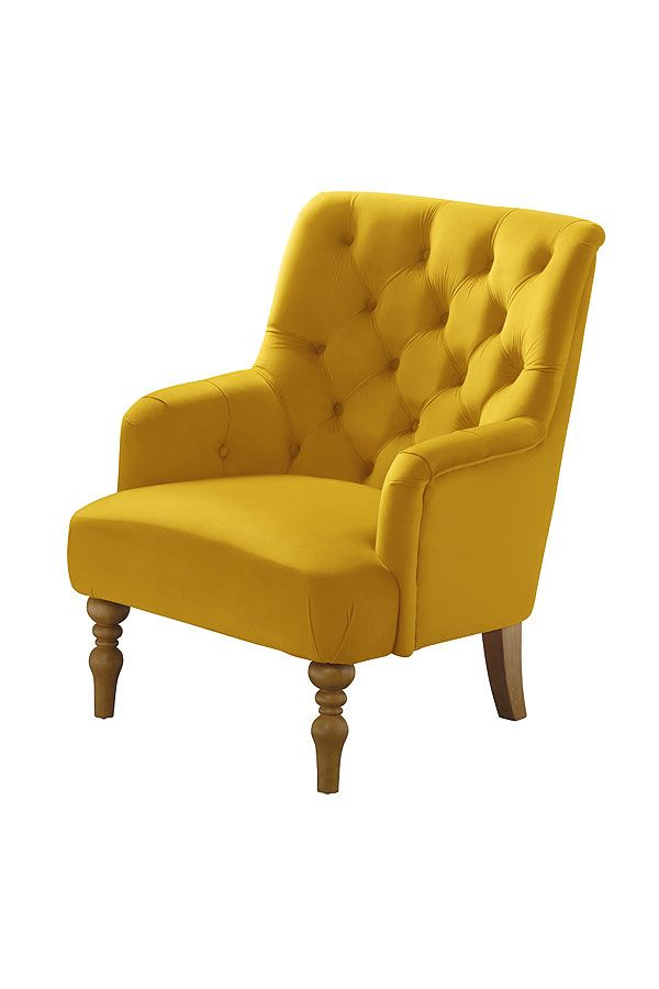 Laterna Armchair Yellow Accent Chairs Chair Armchair