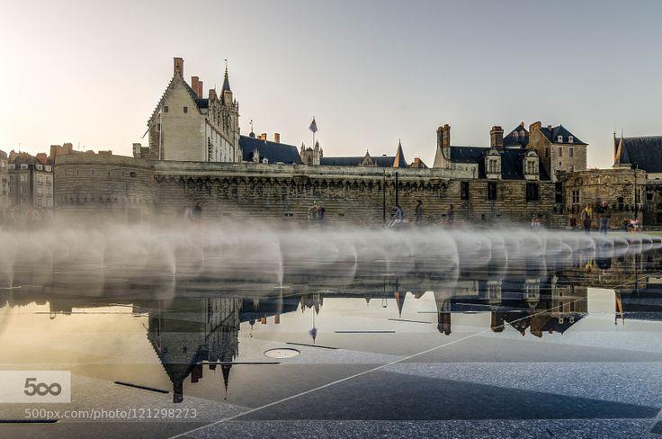 Le miroir d 39 eau chateau des ducs de bretagne nantes for Salon le miroir nantes