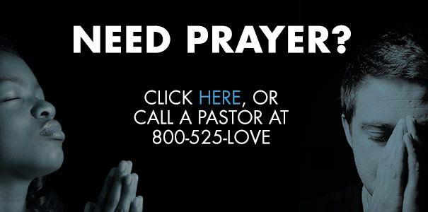 Need Prayer? Click Here