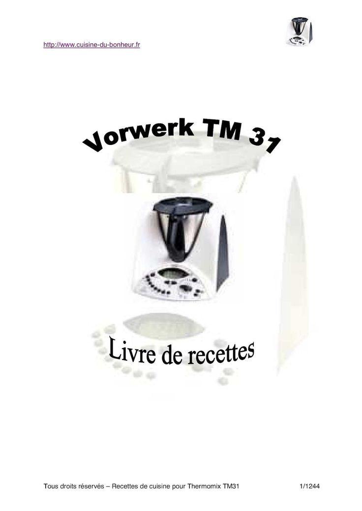 Livre vorwerk livre cuisine autrement livre de recette - Petits plats pour grandes tablees pdf ...