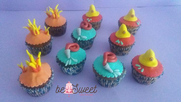 Cupcake Sam il pompiere