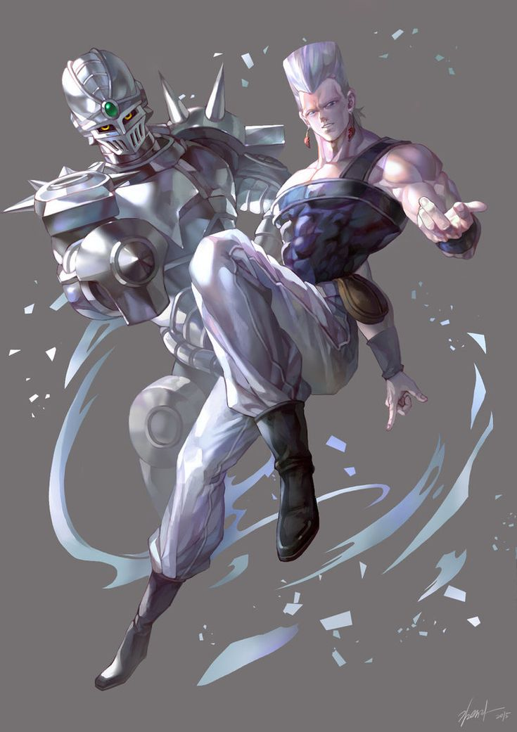 JOJO'S BIZARRE ADVENTURE by GoddessMechanic.deviantart.com on @DeviantArt