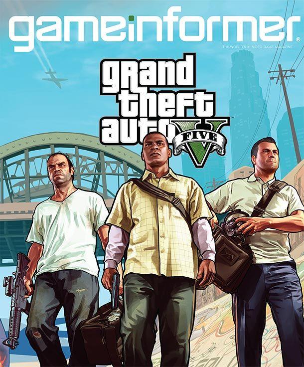 December Cover Revealed: Grand Theft Auto V