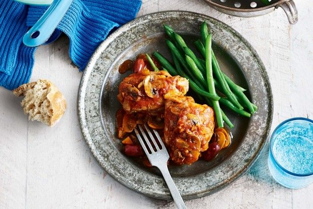 Slow-cooker chicken cacciatore main image
