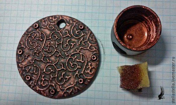 Лепим этно-кулон из полимерной глины - Ярмарка Мастеров - ручная работа, handmade