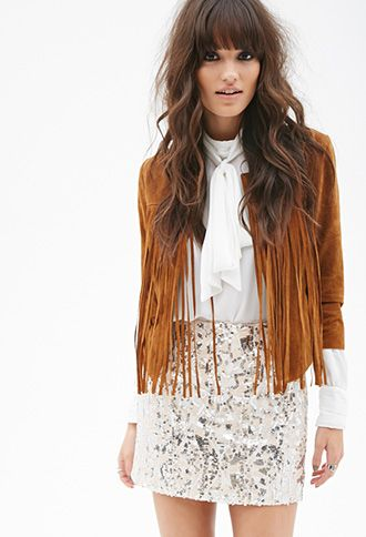 Abstract Sequined Skirt | FOREVER21 - 2000082771