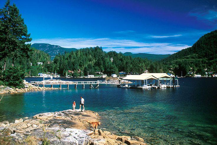 Garden Bay, Sunshine Coast, BC.