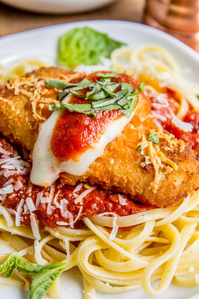 Chicken Parm substituted with our Crunchy Breaded Fish Fillets is comfort food on a new level. Try out this recipe tonight!  …  Trust Gorton's to provide you and your family with delicious seafood. Fish you can make quickly and incorporate into easy recipes. Fish to keep you healthy. Go Fish. Go Gorton's.