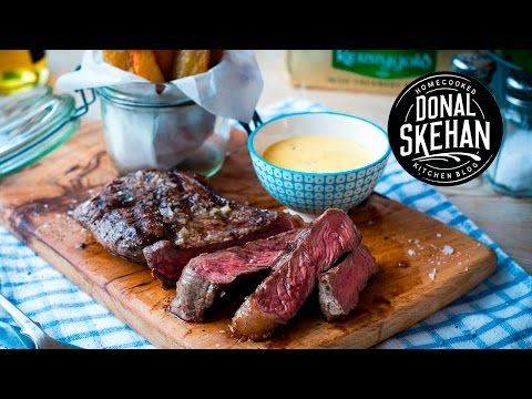 Steak & Chips with Bearnaise Sauce