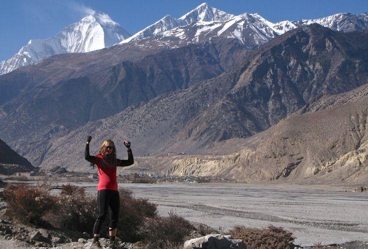 Near Jomsom-Annapurna Circuit-Nepal
