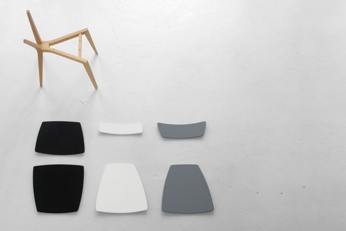 Louise Charlier & Mediane Design, chaise Equis