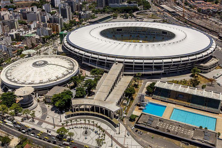 """""""Estádio Mário Filho"""", o """"Maracanã"""". # Rio de Janeiro, Brasil."""