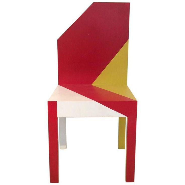 "Pierre Sala Chair, ""Oiseau Rare"" Model, 1983, France 1"