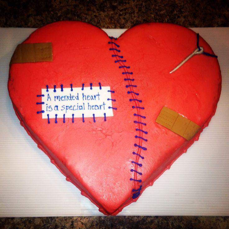 Heart Surgery Cake