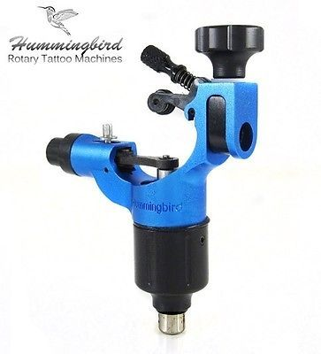 Tattoo Machines and Parts: Hummingbird Aluminum Rotary Tattoo Machine Rca Liner Shader Supply Ink (Blue) BUY IT NOW ONLY: $149.99
