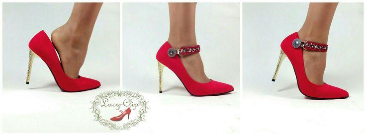 Se te salen los pies de los zapatos? Tenemos la solución perfecta y el complemento ideal. www.lucyclip.com