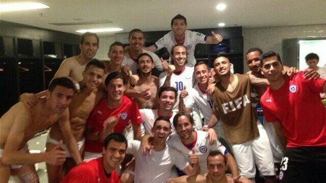 Triunfo entre Chile 2 - España 0