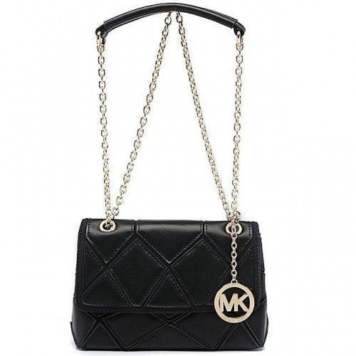 Michael Kors Sloan Large Black 005 Shoulder Bags