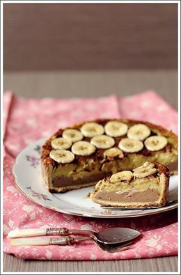Crostata Ciocco-Banana http://www.pixelicious.it/2015/04/16/crostata-ciocco-banana/