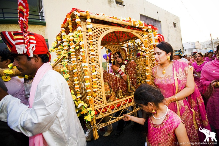 Doli : Traditional way of taking the bride home..