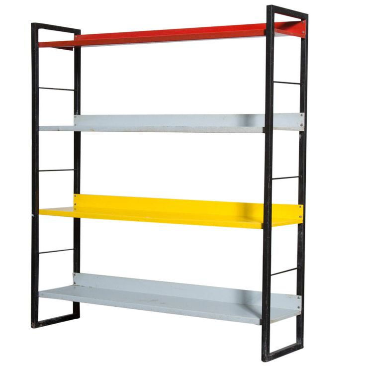 Standing Tomado Industrial Bookshelf
