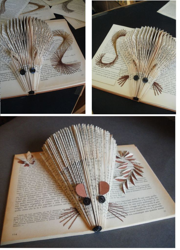 The 25 best book folding ideas on pinterest book for Book craft ideas