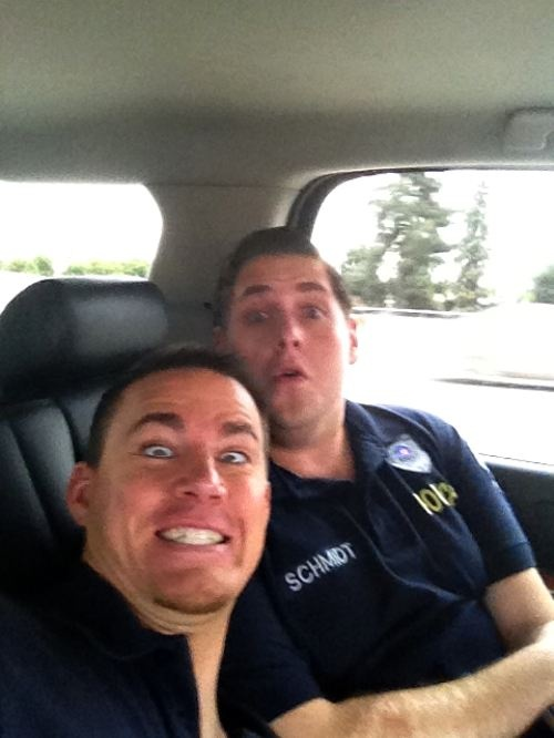 if channing tatum  jonah hill doesn't make someone smile, there might be something wrong