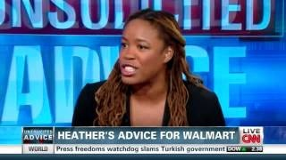 Demos' Heather McGhee Gives Her Advice to Walmart on the Situation Room, via YouTube.